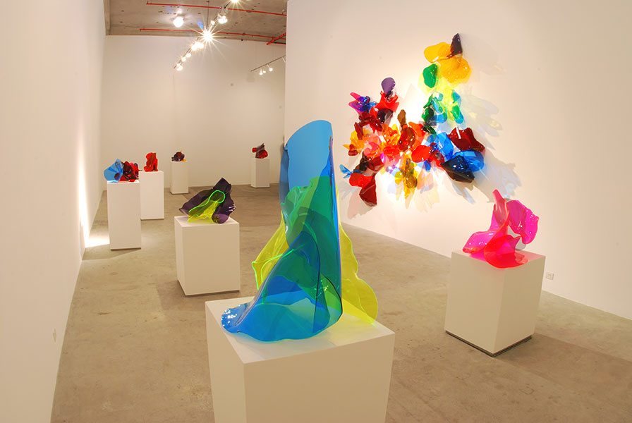 Installation view, Murray White Room, 2007.