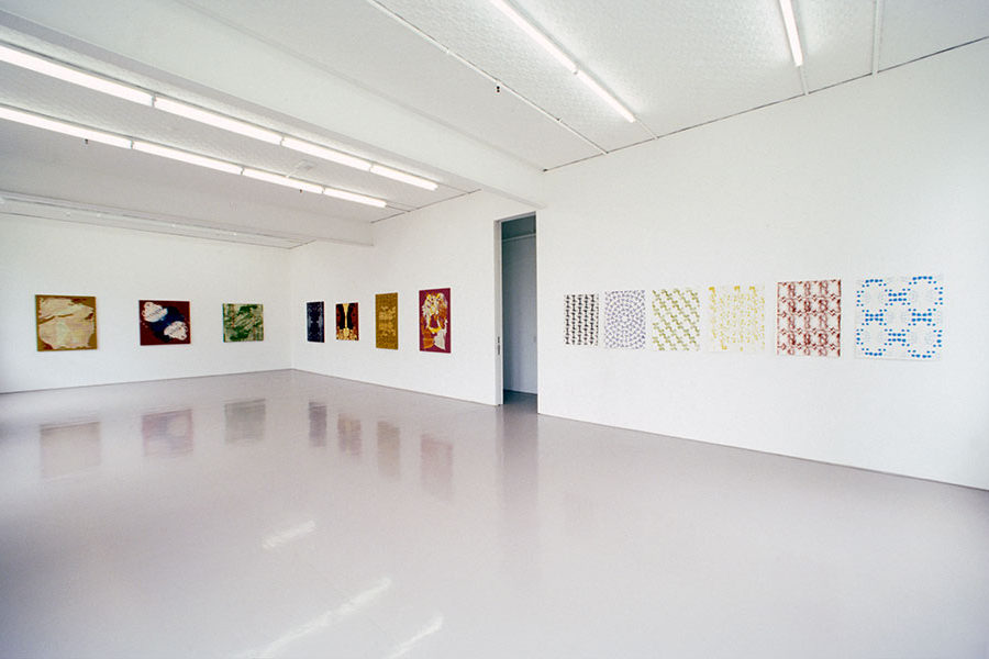 Installation view, Sarah Cottier Gallery, Sydney, 2000
