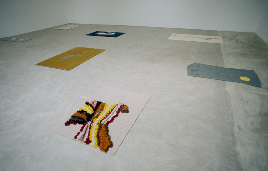 Installation view, Sarah Cottier Gallery, Sydney, 1997