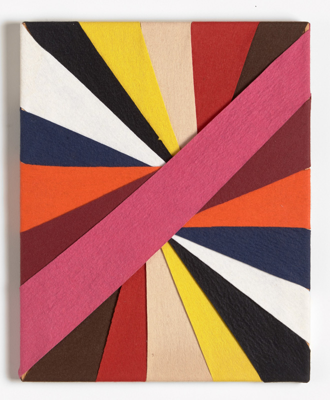 Untitled, (Constructions of Coloured Rays) 1993