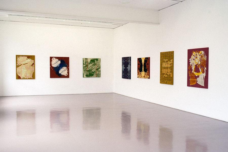 Installation view, Sarah Cottier Gallery, Sydney, 2000