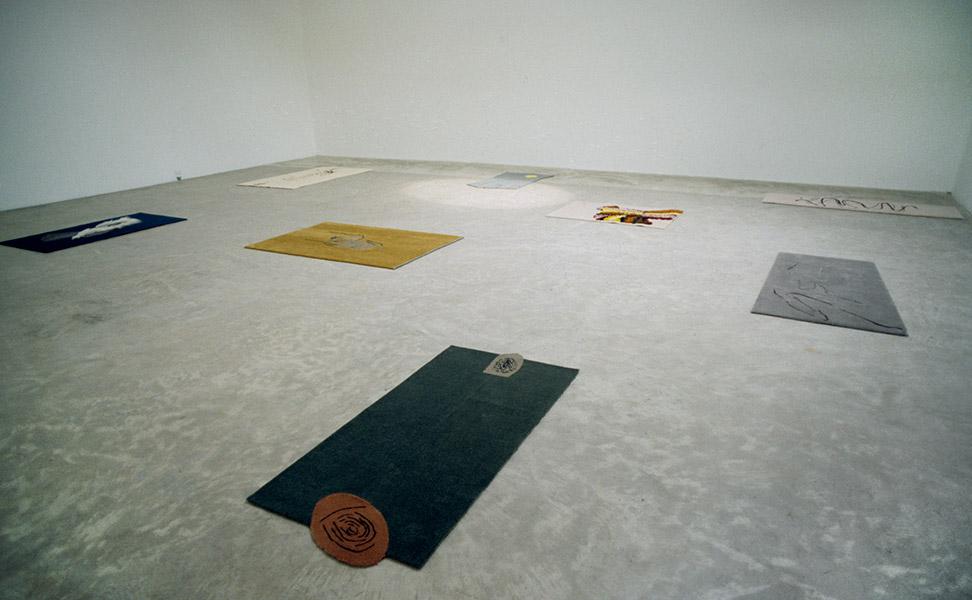 Installation view, Sarah Cottier Gallery, Sydney, 1997