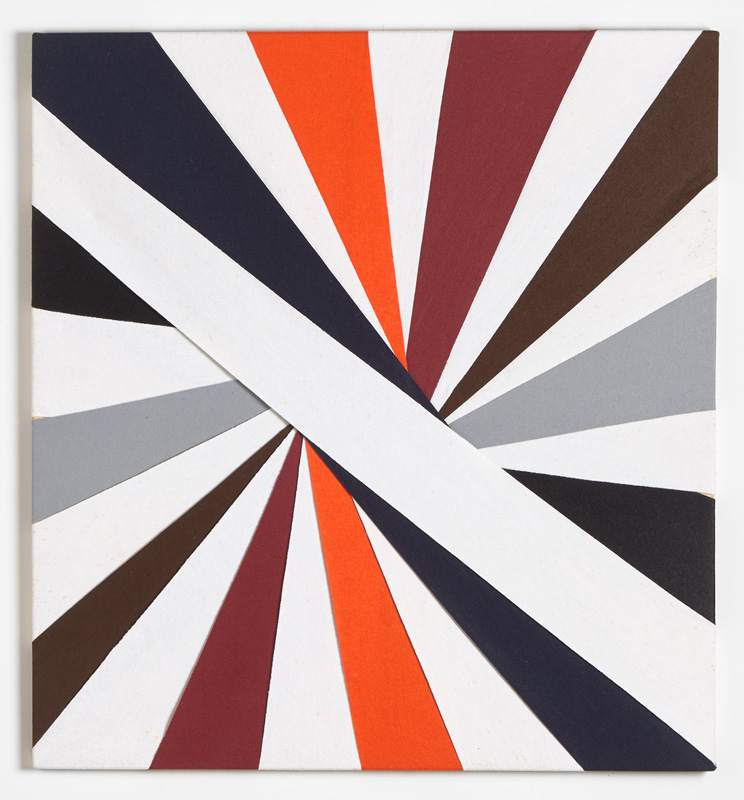 Untitled, (Constructions of Coloured Rays) 1994