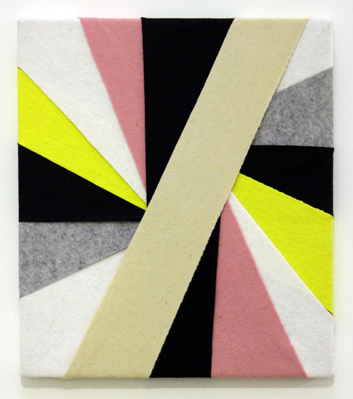 Untitled, (Constructions of Coloured Rays) 1993-1994